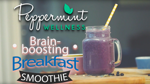 My Brain-Boosting Breakfast Smoothie