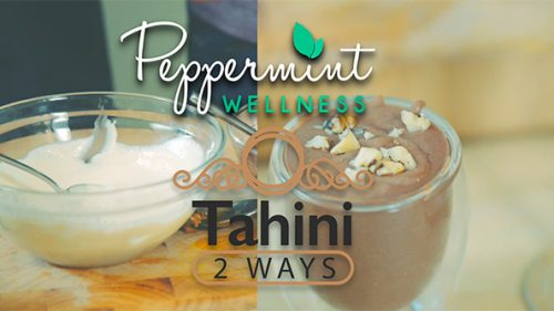 Tahini Two Ways